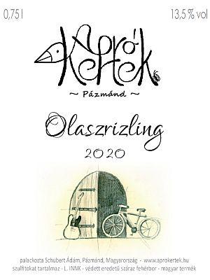 Olaszrizling 2020